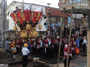 枚岡秋郷祭り