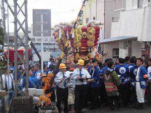 枚岡神社 秋郷祭り
