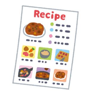 レシピもラテン語